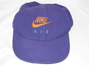 3f874434bae VTG PURPLE TEAL ORANGE NIKE AIR WOOL HAT CAP SNAPBACK ONE SIZE FLAW ...