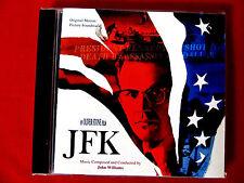JFK LN Original Movie Soundtrack CD OOP John Williams Elektra Oliver Stone film