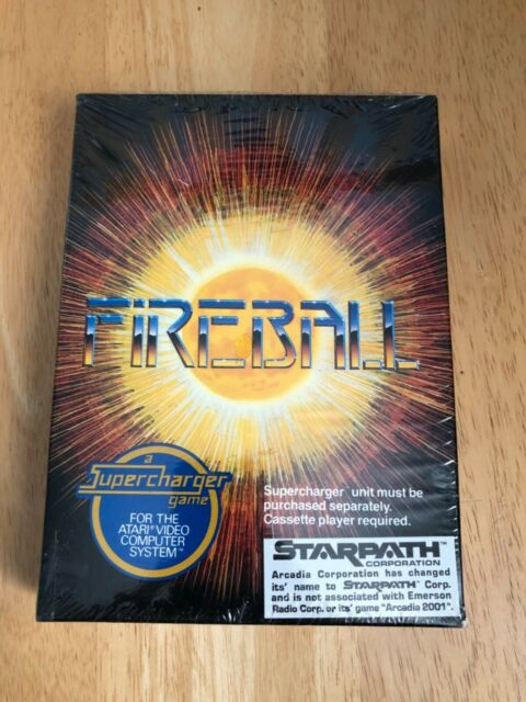 Fireball (Atari 2600) NEW FACTORY SEALED