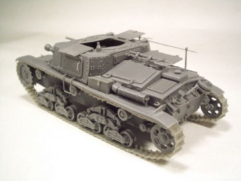 BRACH MODEL CARRO COMANDO M41 WWII FULL KIT Scala 1 1 1 35 Cod.BM135 8b9c1e