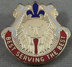 US Army 221st Support Battalion Unit Crest Insignia 23 G