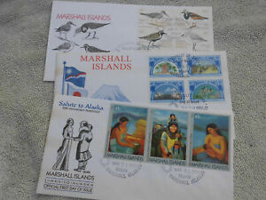 584441-Australia-Marshall-Islands-FDC-lot