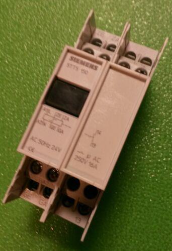 Siemens 5TT5 150 24V~ Stromstoßschalter 5TT4151-2 Fernschalter Relais 24V 5TT5