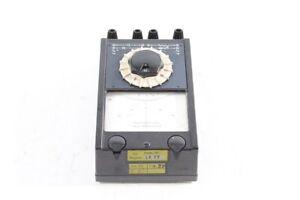 Old-Gauge-Resistor-Messbrucke-Old-Vintage-GDR-Widerstandsmesser