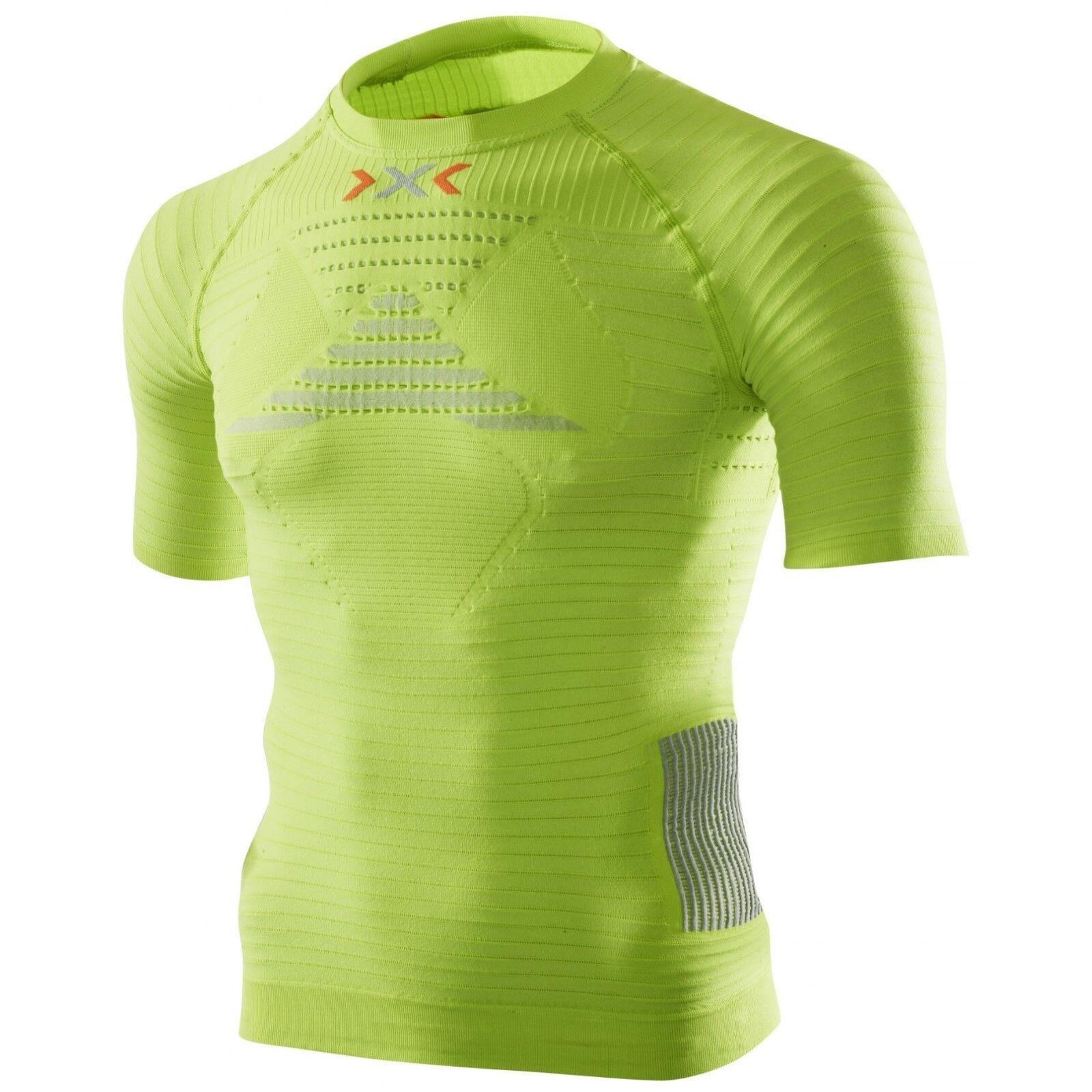 XBionic da uomo a maniche corte effettore Running PowershirtTaglia SceltaNuovo con confezione