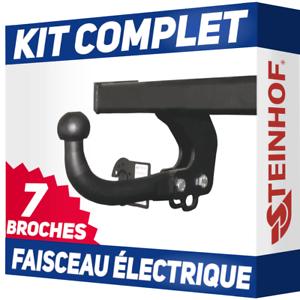 Citroen-C4-Grand-Picasso-de-13-Attelage-fixe-faisceau-7-broches