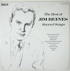 JIM REEVES Best Of Jim Reeves Sacred Songs LP 1974 COUNTRY GOSPEL NM- NM-