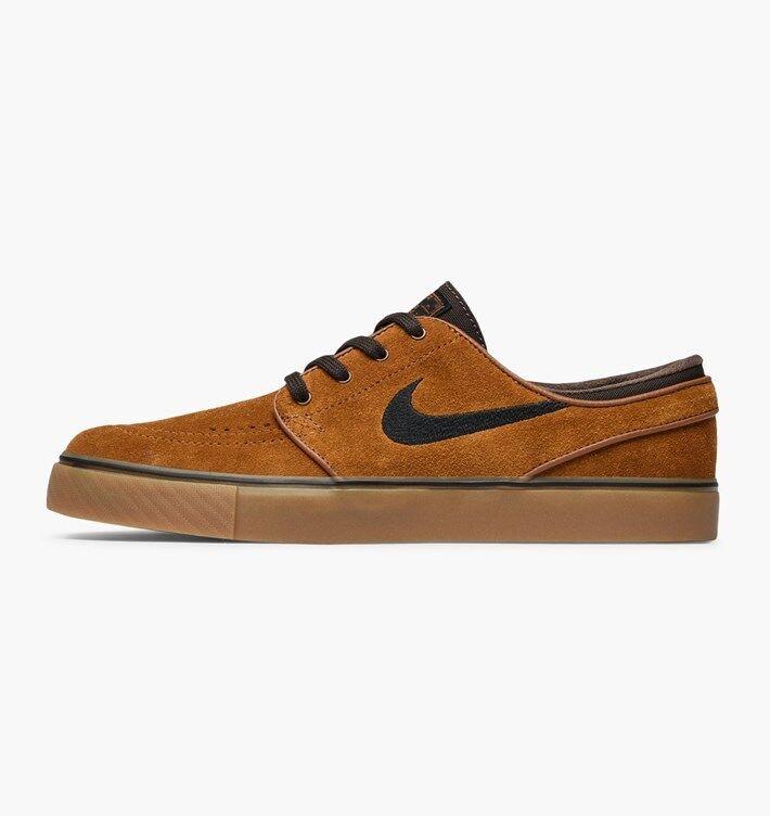 Nike SB Zoom Stefan Janoski HAZELNUT SUEDE BROWN 333824-214 sz 7 SKATE Scarpe