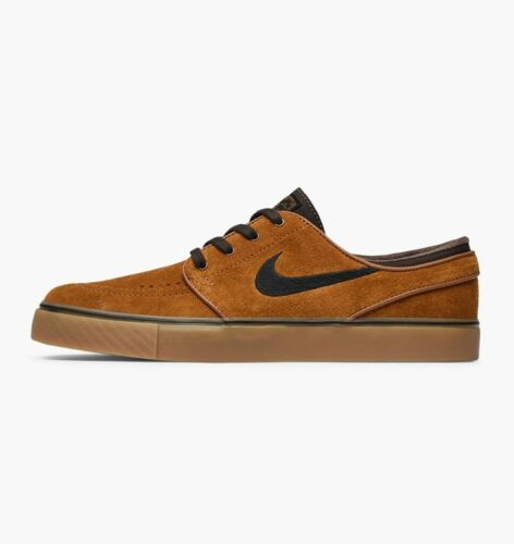 Discount Nike SB Zoom Stefan Janoski HAZELNUT SUEDE BROWN 333824-214 sz 7.5 SKATE SHOES supplier