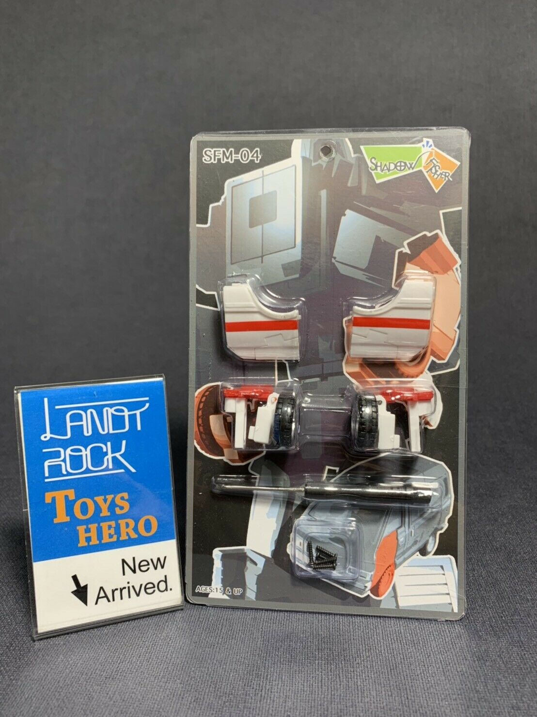 [Toys Hero] In Hand Shadow Fisher SFM-04 Upgrade kit for MP-30 Ratchet