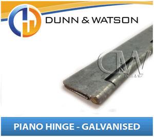 Details about 76mm Open Width Piano / Continuous Hinge (2400mm Long)  Caravans, Camper Trailers