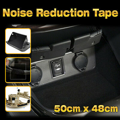 """Car Studio Acoustic Sound Proofing Noise Reduction Tape 19x19"""" For All Veichle"""