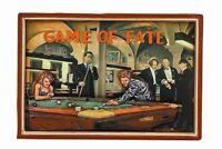 Ram R892 Wooden Game Of Fate Billiard Pub Sign 3d Art W/ Free Shipping