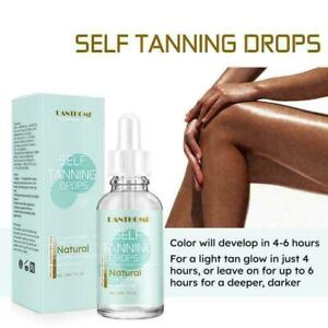 30ml Natural Dry Tanning oil Pure Brown with Melanin Activator Oil Natural Q7Y7