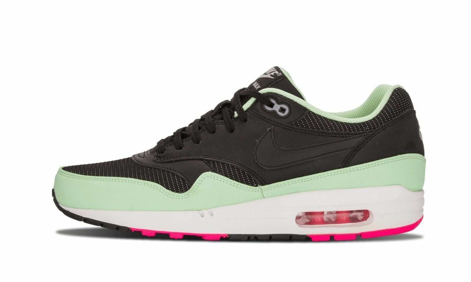 Nike Air Max 1 Fb Yeezy Hommes 579920-066 Noir Fresh Rare Mint rose Neon Flash Rare Fresh e7e971