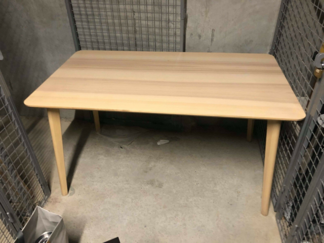 Spisebord, IKEA, b: 78 l: 140, Selling IKEA wood table.…
