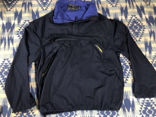 POLO SPORT Pullover Coat Jacket Men's Size L Yacht
