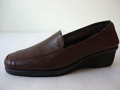 AEROSOLES Damen Schuhe 36,5 (4) Braun Leder Halbschuhe NEU