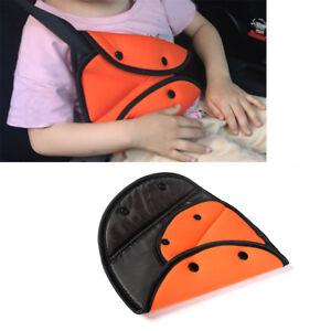 Kinder-Baby-Sicherheitsgurt-Fixierer-Gurtpolster-Einsteller-Auto-Gurtschutz-Gelb
