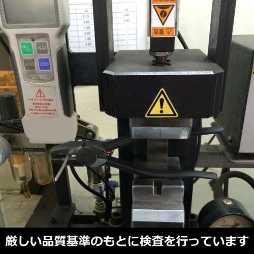 Fujiya High Leverage Lineman/'s Pliers Simple Crimp 225mm 3300-225 MADE IN JAPAN