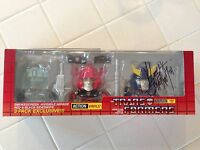 Transformers Autobot 3 Pack Sdcc 2014 Exclusive The Loyal Subjects Signed Vinyl on sale