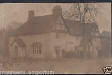 Warwickshire? - Gloucestershire? Postcard - Large House - Bedington Area? DR880