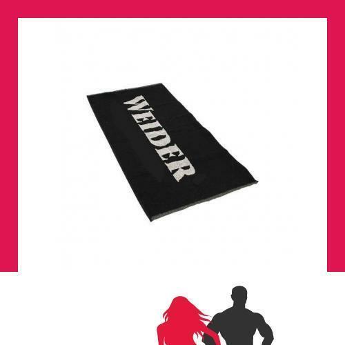 100 x 50 cm Noir Weider-Gym Serviette