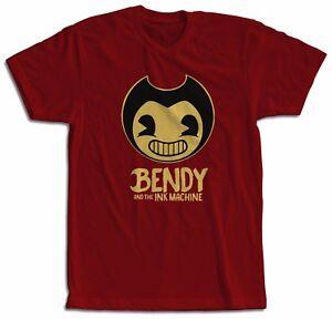 BENDY-Y-LA-MAQUINA-DE-TINTA-CAMISETA-NINOS-Bendy-AND-THE-INK-MACHINE-T-SHIRT