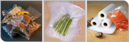 """Food Magic Seal 11/""""x 50/' Rolls 4 Mil for Vacuum Sealer Food Storage Bags!"""