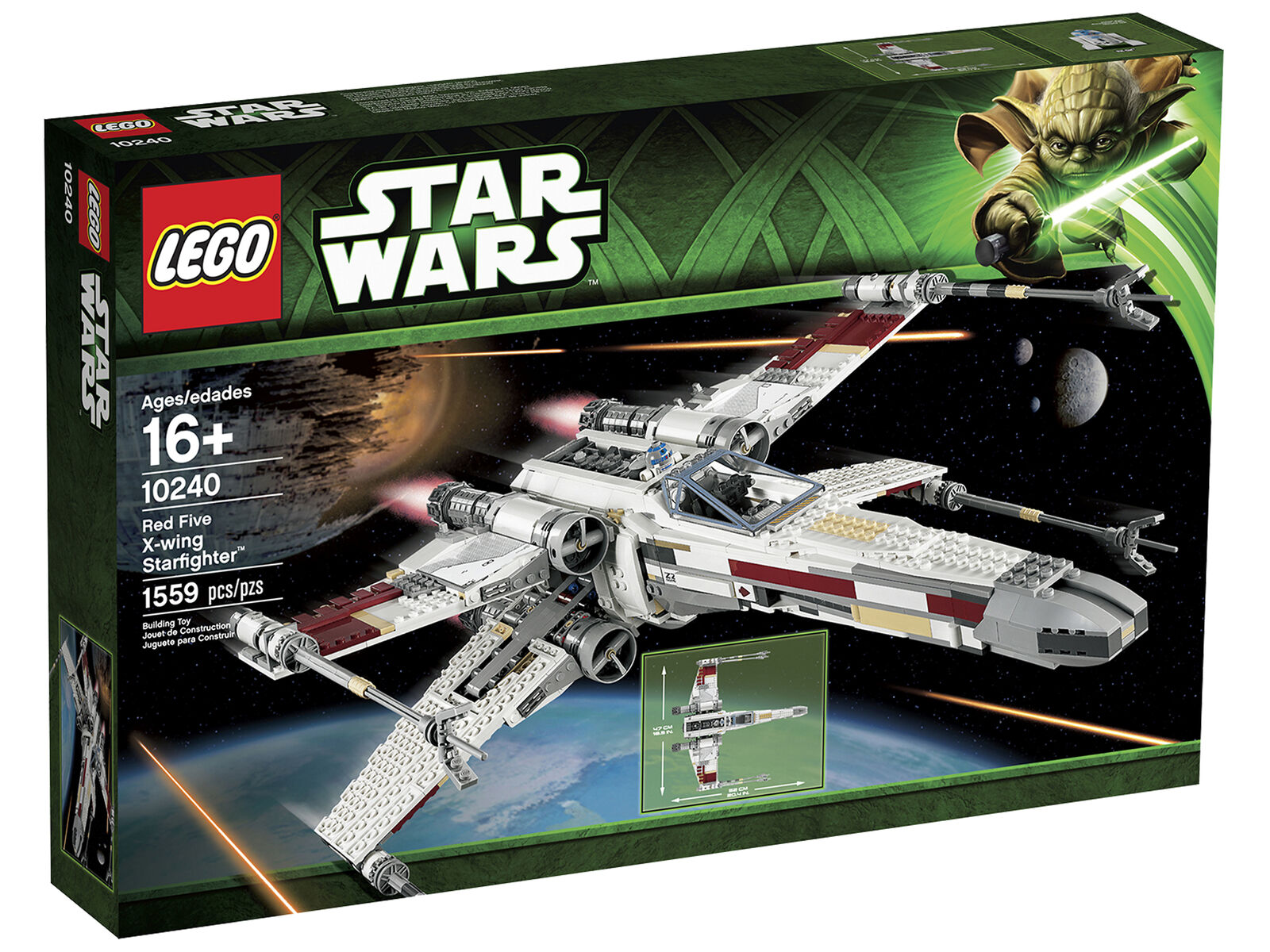 LEGO Star Wars ROT Five X-Wing Starfighter (10240) NEU OVP