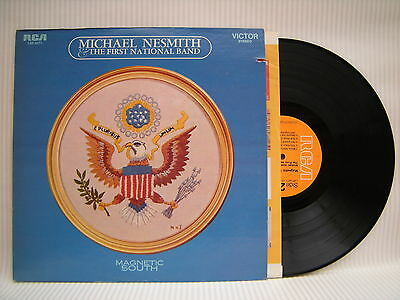 Michael Nesmith & The First National Band - Magnetic South, RCA LSP4371 Ex+ RARE