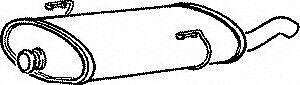 Peugeot 206 2.0Hdi 98-00 Klarius Exhaust Rear Back Box PG572G//PG711C