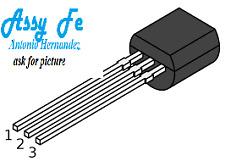 4 pcs x 2N5064 Thyristor-TO-92  DIODE SCR 200V 10A 3-Pin  MOTOROLA