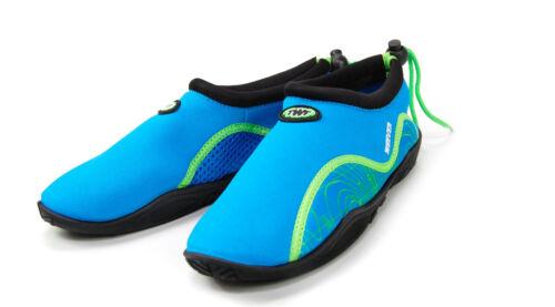 TWF RAGNO Aqua Spiaggia acqua Canoa Scuba Nuoto Scarpa Bambino UK4 a UK12 nuova per adulti