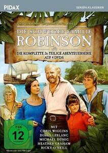 4-DVDs-SCHWEIZER-FAMILIE-ROBINSON-PIDAX-SERIEN-KLASSIKER-NEU-OVP