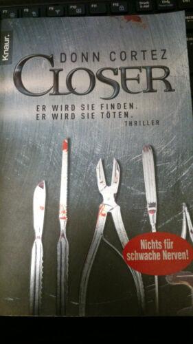 1 von 1 - Closer von Donn Cortez (2008, Taschenbuch)