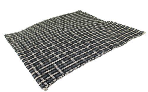 Fleckerlteppich Baumwolle Handweb Teppich Flickenteppich 70 X 70 cm