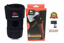 AVIMA Sports Durable Neoprene Wrap Knee Brace Support - Arthritis, Meniscus Tear