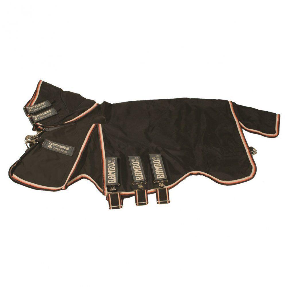 Horseware Rambo Optimo participación caballos Alfombra Impermeable Transpirable-Liner Incluido