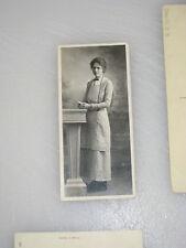 Yankee girl very small Postcard