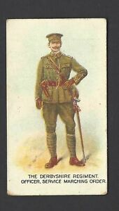 WILLS-AUS-TYPES-OF-BRITISH-ARMY-CAPSTAN-43-THE-DERBYSHIRE-REGIMENT
