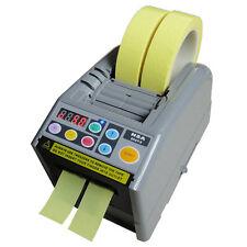 110v Automatic Electric Tape Dispenser Adhesive Cutter Cutting Machine Zcut 9