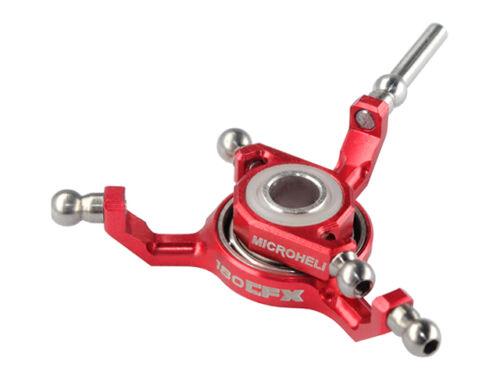 BLADE 180 CFX Microheli Precision CNC Titanium X Swashplate RED