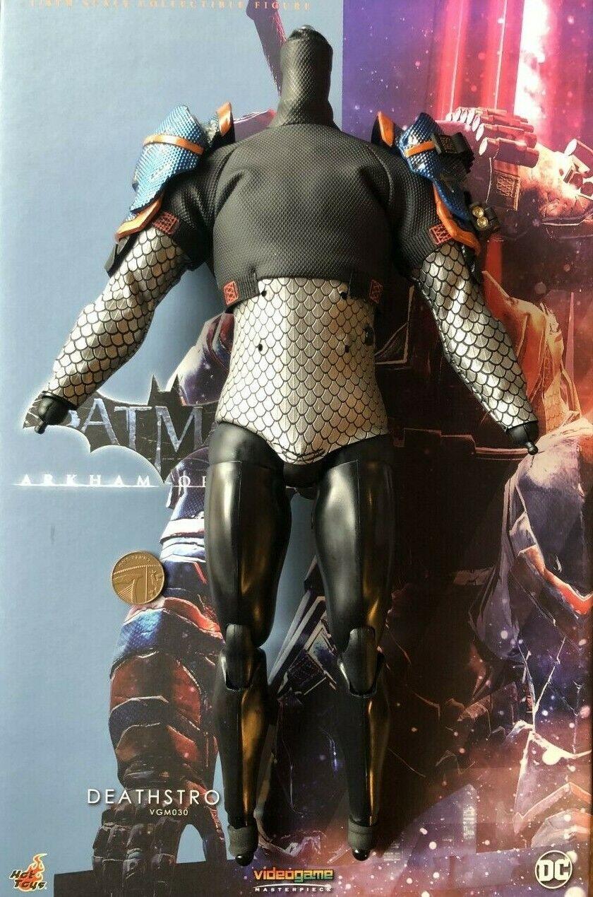 Hot Juguetes Batman Arkham Orígenes Deathstroke VGM030 Camisa Y Cuerpo Suelto Escala 1 6th