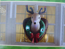 CHRISTMAS Deer Head  AIRBLOWN INFLATABLE  yard blowup