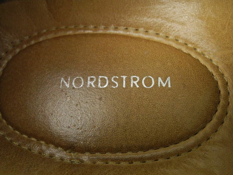 New NORDSTROM Mens Brn Leather Flat Flat Flat Slip On Casual Comfort Dress Loafers Sz 11 D 231d6c