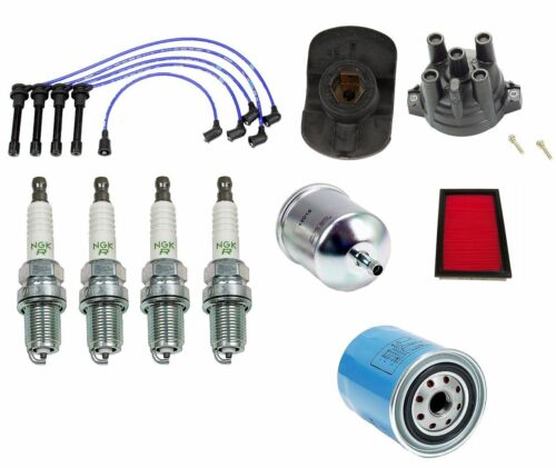 For 1991-1994 240SX Tune Up /& Filter Kit NGK Iridium IX Spark Plugs