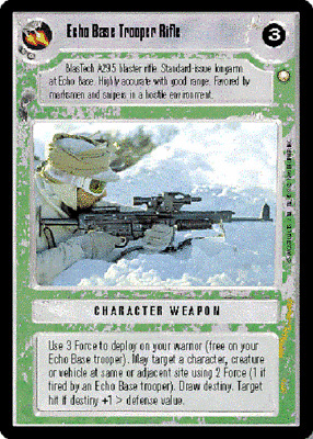 Disruptor Pistol x4 Star Wars CCG Special Edition NM swccg