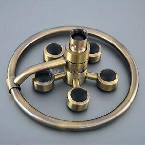 "Bathroom Oil Rubbed Bronze Bath 7.7/"" inch Star Shape Rain Shower Head ssh245"