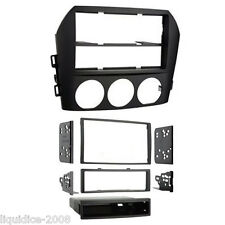 CT24MZ08 Mazda MX5 Miata NC 06-15 Single// Double Din Car Radio Fascia Panel Kit